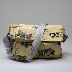 Harajuku Lovers Canvas Messenger Bag